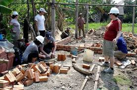 Green Summerscommunity Service Project House Building For Poor Families