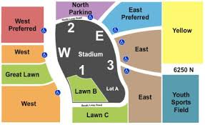 University Of Phoenix Seating Chart University Of Phoenix Stadium Parking Lot Tickets And