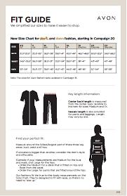 Plus Size Clothing Size Chart Affordable Plus Size Clothing My Beauty Erep Avon Catalogs