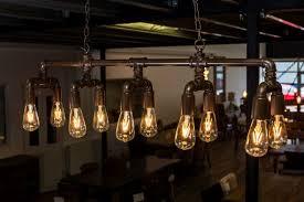 lighting industrial look. INDUSTRIAL STYLE CEILING LIGHT PIPEWORK FITTING Lighting Industrial Look H