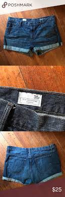 Gap Jeans Size Chart Gap Jean Shorts Lovely Euc Jean Shorts According To Gap