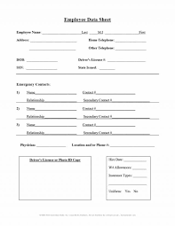 basic personal information form employee info sheet endowed also personal information form template