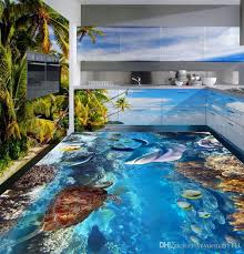 3d flooring custom 3d photo wallpaper dolphin vinyl flooring 3d wallpaper walls tile flooring bathroom widescreen computer wallpaper backgrounds for