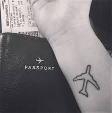 Plane Tattoopng 500501 Discovered By Thaissa Lopez