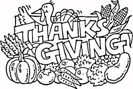 Small Picture Coloring Pages Thanksgiving Pdf For Preschoolers Kids Toddlers