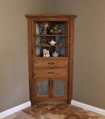 corner furniture. rustic corner cabinet reclaimed barn wood wbarn tin by keeriah furniture