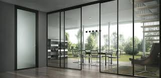 Sliding Office Door Brilliant Commercial Glass Doors Multi Track And Dual Amazing Furniture Full Exterior