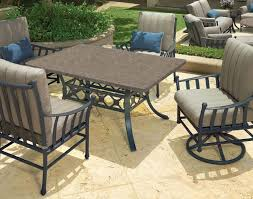 Furniture Avanti Collection Cast Aluminum The Great Escape