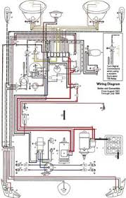 vw wiring diagram 66 and 67 vw beetle wiring diagram vw beetles beetle and d wiring diagrams for cars