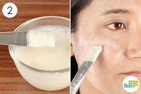 apply this mask once a week to get rid of oily skin