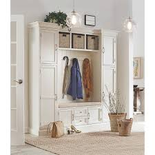 Bench With Storage And Coat Rack Entryway Furniture Furniture The Home Depot 30