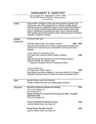 Word Document Resume Template Finance Marketing Resume Sample In ...