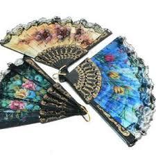 folding hand fan. spanish floral folding hand fan size 9 (1 dozen) 12 pieces by 21 fans folding hand fan