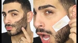 no more shaving beard upper lip hair waxing