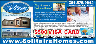 choose affordable home. Choose A Quality Solitaire Home, And Get $500 VISA Card - Homes  In Victoria | Connection Magazine Choose Affordable Home