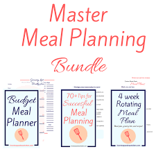 weekly meal plans on a budget tips for back to school meal planning live cheap travel often
