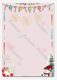 Cute Minimalistic Christmas Stationery Background Word