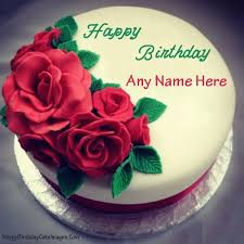 Happy Birthday Cake With Photo Edit Online Free Brij Name Happy