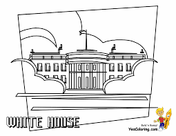 Small Picture White House Coloring Page Throughout itgodme
