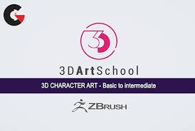 3d character art in zbrush basic to interate
