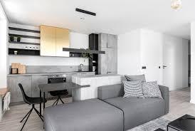 trendy brass black and gray decor