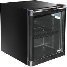 ft mini refrigerator in black with stainless steel stand up computer