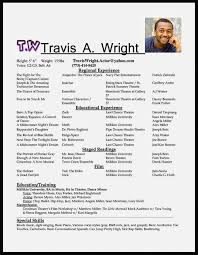 Acting Resume Templates Interesting Gallery Of Acting Resume Template Microsoft Resume Template Cover
