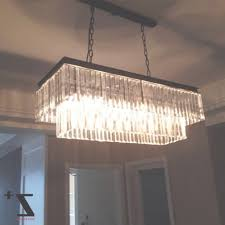 replica item industrial length 85cm 1920s odeon clear glass fringe have to do with rectangular previous photo rectangular chandeliers