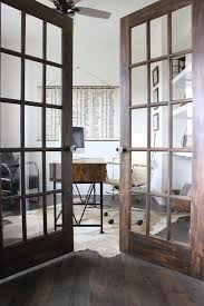 image of interior home office door sliding glass jennifer pacca interiors home office just girl