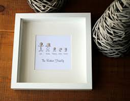 stick person personalised family