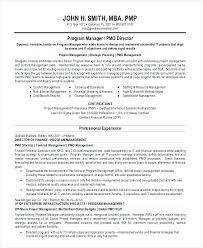 Program Manager Resume Samples Digital Project Manager Resume Senior ...