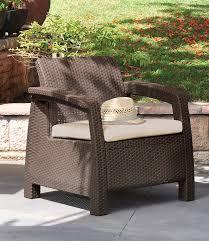 Amazon Keter Corfu Armchair All Weather Outdoor Patio Garden