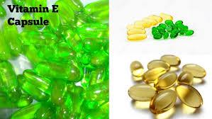 vitamin e capsule benefits