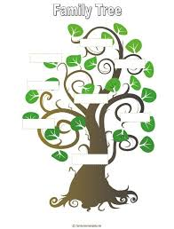 Family Tree Template Family Tree Template Pinterest