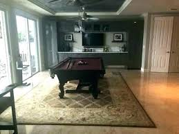 pool table rug under home degn need a replacement for rugs area size images pool table room rugs
