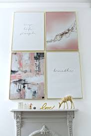 Here's the latest trend and look for creating an art print gallery wall in  your home