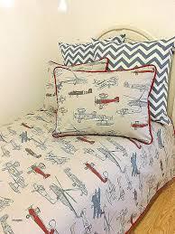 planes bedding elegant vintage baseball stripe airplane route bedding collection airplane toddler bedding