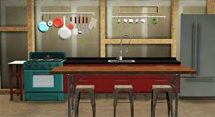 Sims 3 Kitchen My Sims 3 Blog Kitchen Living Decor And Stair Rail By Marcussims91