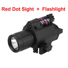 Tactical Shotgun Laser Light Combo Us 17 99 43 Off Hunting Tactical Laser Sight 650nm Red Dot Laser Sight Bright Cree Led Flashlight For Shotgun Pistol Rifle In Lasers From Sports