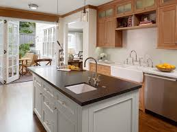 san francisco white marble countertops with biscuit a kitchen traditional and pendant lighting farmhouse sink