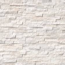 home s outdoor ledgers arctic white stacked stone