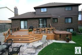 Backyard Decking Designs Enchanting Backyard Deck Designs Backyard Deck Designs Plans Deck Plans With