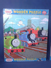 brand new lot of 2 thomas friends 25 piece wooden puzzles trains factory seale 1841200882