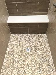 pebble shower floor surprising tiles for shower floor glamorous tile ideas pebble pros and pan diy