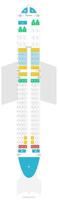 Air Canada Plane Seating Chart Mapa De Asientos Airbus A320 200 320 Air Canada Encuentra