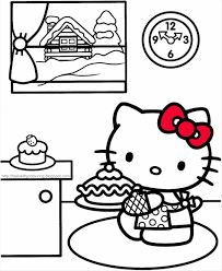 Small Picture Book Kitty Coloring Pages Free Archives Best Page Easter Resume