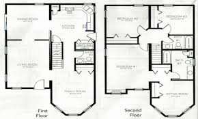 House Plan 1 Story House Plans With 4 Bedrooms Beautiful Uncategorized 2  Story .