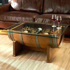 barrel coffee table ideal for interior design coffee barrel coffee table  plans convertible whiskey barrel also