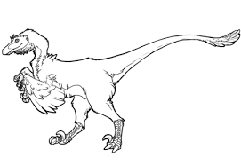 Small Picture Raptor Dinosaur coloring page Free Printable Coloring Pages