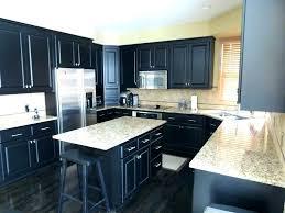 gray wood floors dark cabinets grey walls light hardwood interior vintage kitchen with li